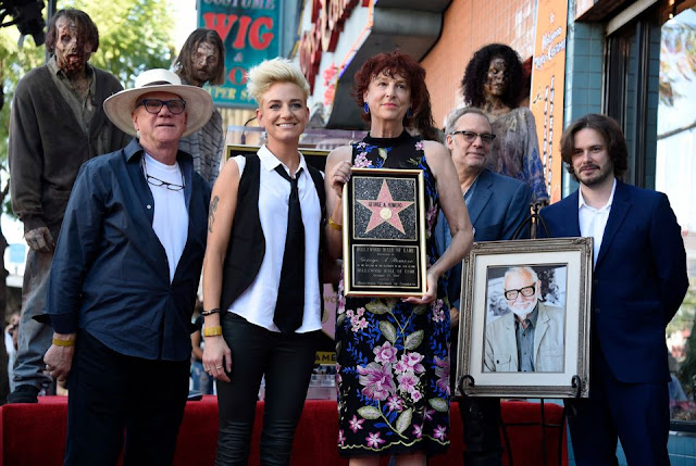 Cerimonia per Romero sulla Hollywood Walk of Fame