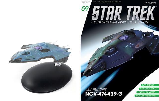 Star Trek Raumschiffsammlung Ausgabe 01-78 Eaglemoss das Magazin