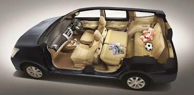 2016 New Nissan Grand Livina seat Hd Pictures