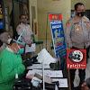 Pelaksanaan Vaksinasi Jajaran Polrestabes Makassar Dilaksanakan Secara Bergiliran