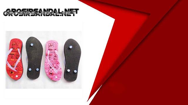 Sandal AMX HelloKity Simplek - Sandal Karakter Murah