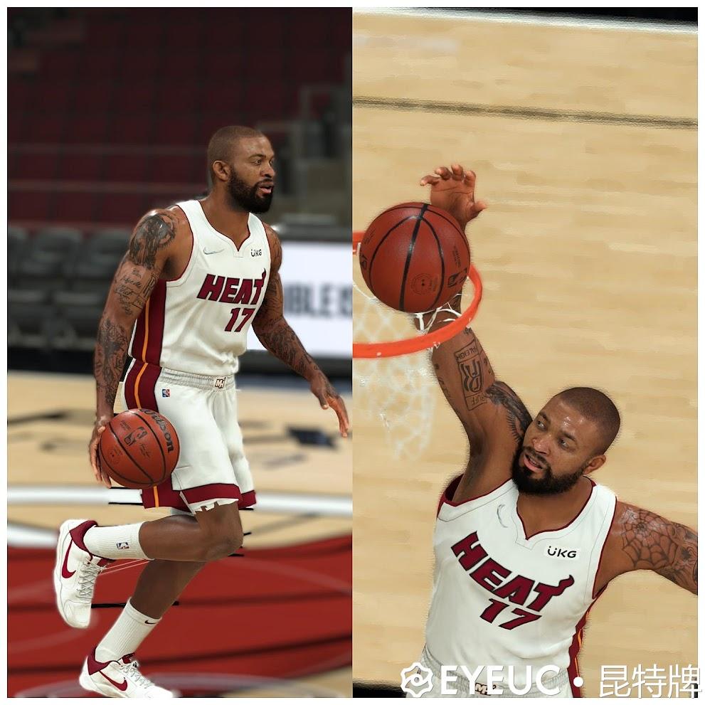 NBA 2K22 PJ TUCKER CYBERFACE AND BODY MODEL 2 VERSIONS By Quint