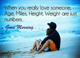 Good Morning Love Image with Nice Lines