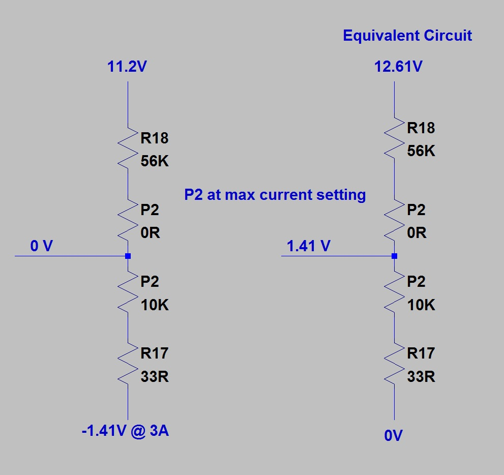 Pauls Diy Electronics Blog Tuning A 030v Dc 03a Psu Kit How To Build An Add On Current Limiter For Your Here Is Simplified Diagram Help With The Calculation Just In Case You Want Use Another Maximum Version