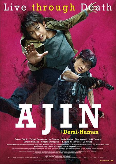 Ajin: Demi-Human (2017) DVDRip Subtitle Indonesia