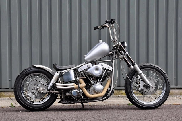 Harley Davidson Shovelhead By Rocket Bobs Cycle Works Hell Kustom