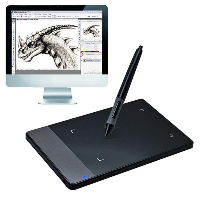 420 Portable Smart 4.0 x 2.23 inch 4000LPI Stylus Digital Tablet Signature Board with Digital-TABLETTE GRAPHIQUE سوق خليل المغرب