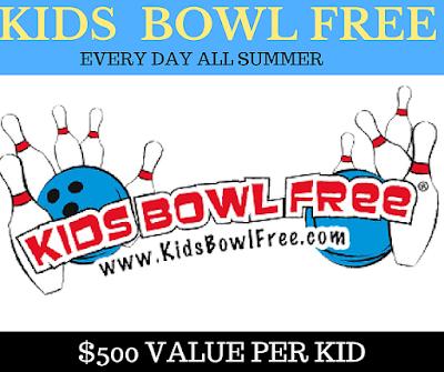 FREE KIDS BOWLING