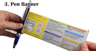 Pen Banner merupakan salah satu souvenir akhir tahun yang berkesan