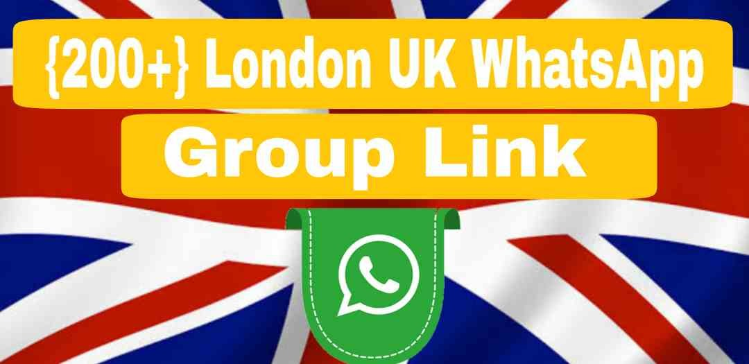London Whatsapp Group Link