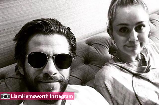 ماهي خطط مايلي سايروس و ليام هيمسوورث للسنة الجديدة و هل هي حامل ؟
