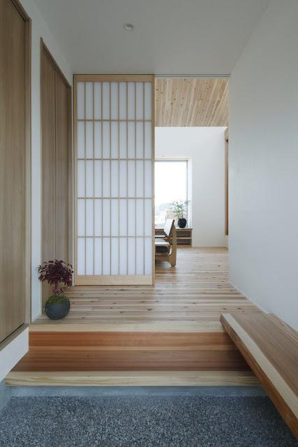 ตกแต่งทางเข้าบ้านแบบญี่ปุ่น