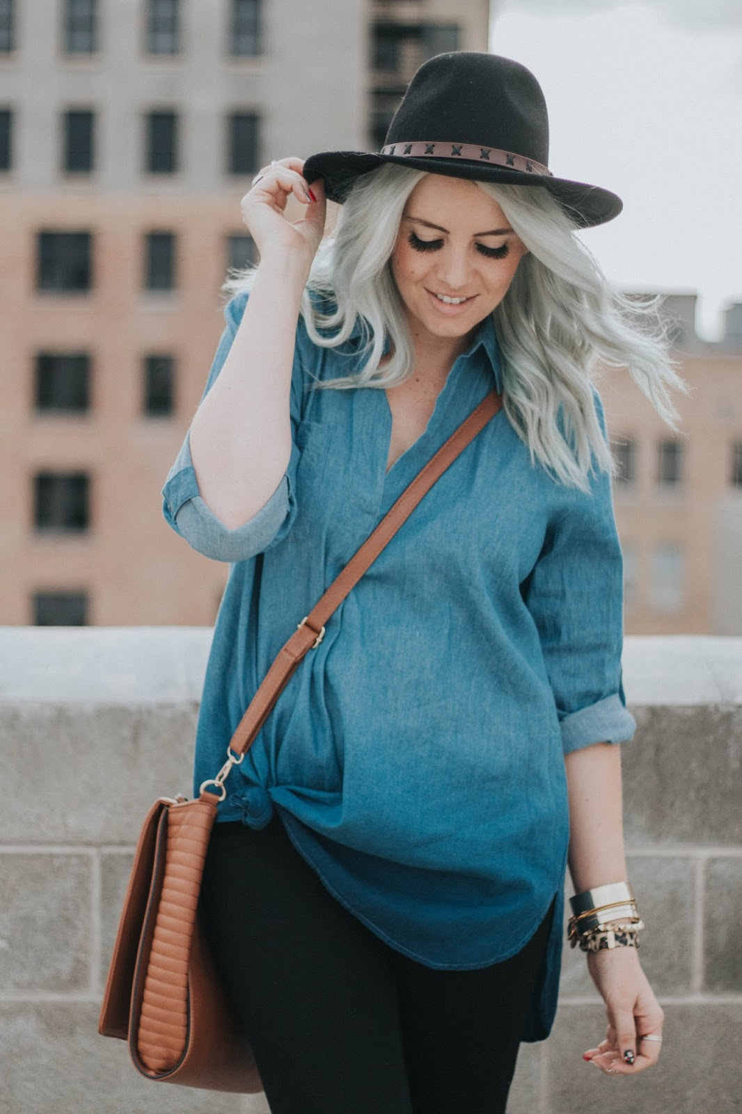 Ombre Shirt, Shop Goldies, Utah Fashion Blogger