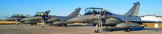 Three More Rafale Jets Arrive In India From France