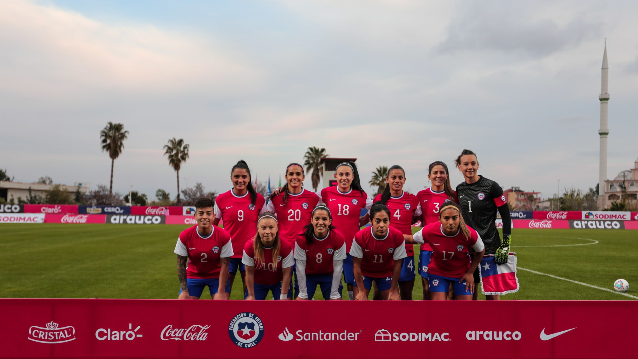 Formación de selección de Chile ante Camerún, repechaje intercontinental a Juegos Olímpicos de Tokio 2020, 13 de abril de 2021