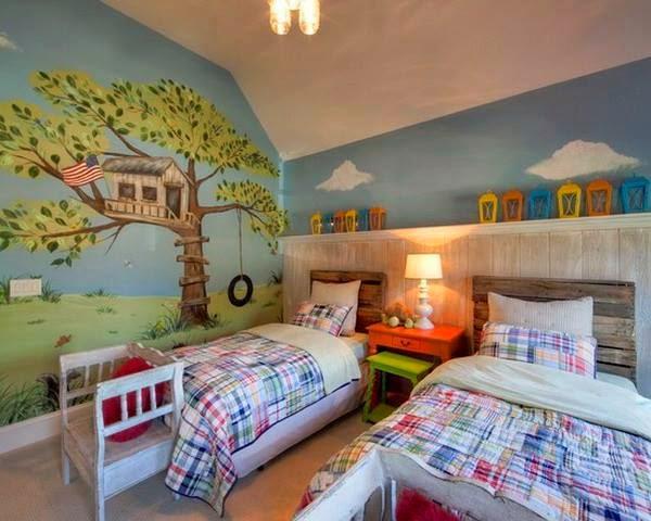 Desain Kamar Tidur Anak Laki-Laki Sederhana
