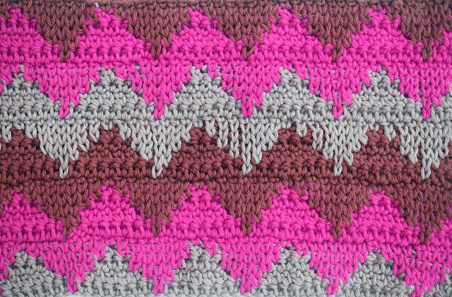 2 - Crochet Imagen Puntada otoñal para mantas y cobijas a crochet Majovel Crochet ganchillo bareta videotutorial paso DIY sencillo