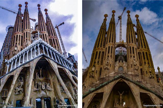 Fachada da Crucificação, Basílica da Sagrada Família, Barcelona