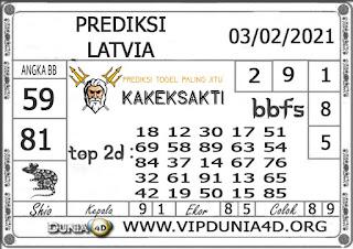Prediksi Togel LATVIA DUNIA4D 03 FEBRUARI 2021