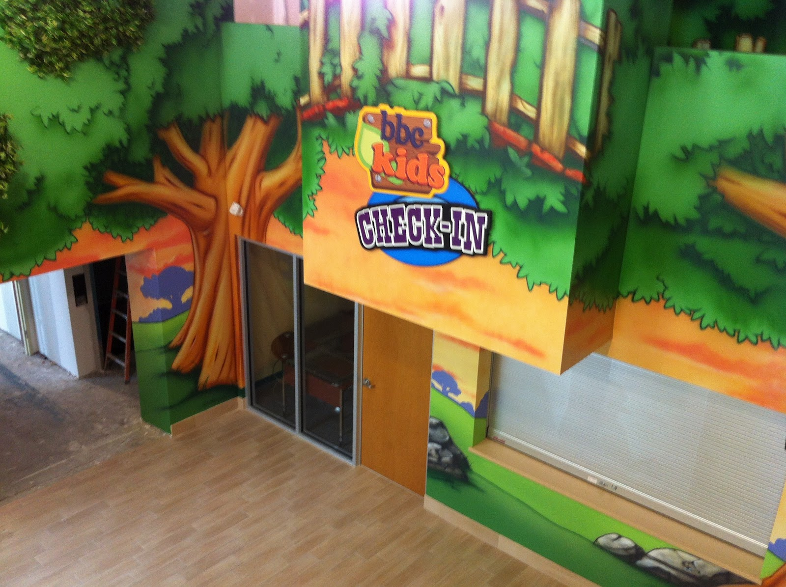 Kids Church Design - Clubhouse & Nature Theme   Worlds of ...