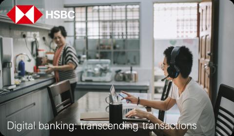 HSBC – Digital Banking: Transcending Transactions