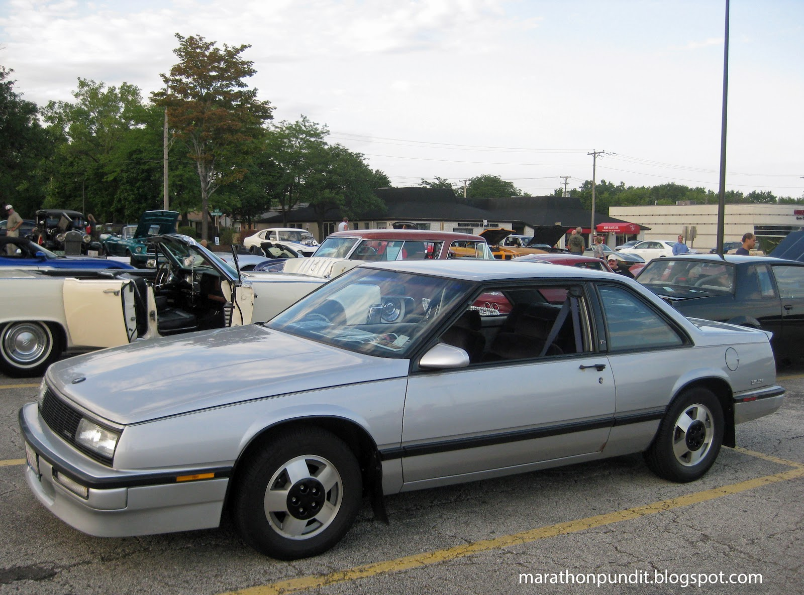 1988 Buick Lesabre T Type >> Marathon Pundit: (Photos) Morton Grove Classic Car Show 7/27/12