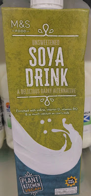 M&S Soya Milk (Unsweetened) Plant Kitchen