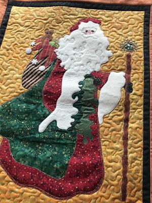 Nedjeljka's Santa quilt