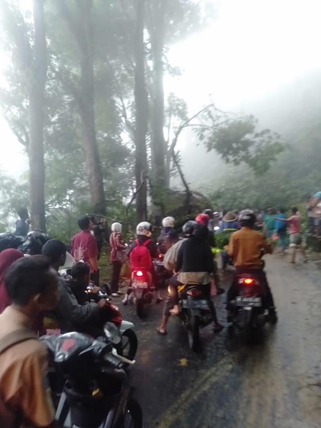 Tebing Piket Nol KM 55 Longsor, Jalur Lumajang-Malang Terputus Total