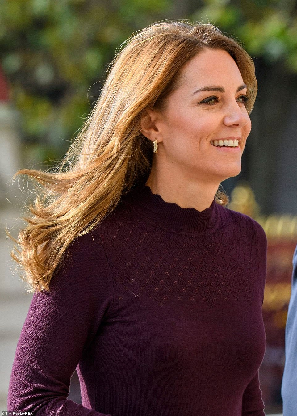 Kate Middleton Steps Out in the Perfect Fall Look