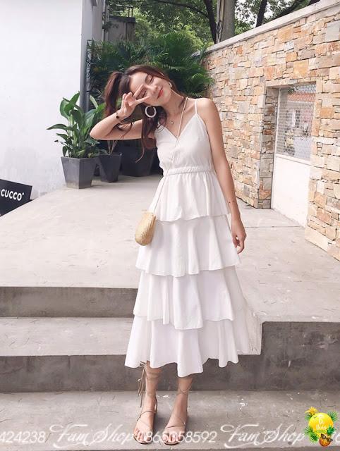 Shop ban vay maxi di bien gia re tai Thanh Xuan
