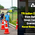 176 Indian Citizens from Bahrain & Oman Complete Quarantine at Naval Base, Kochi