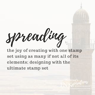 SPREADING - JOS Blog Hop reference to stamping