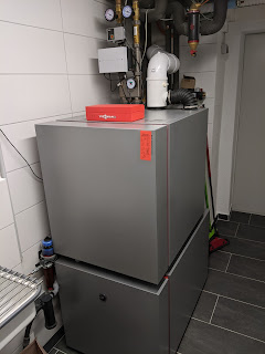 Vitoladens 300-C mit Vitocell 300-H