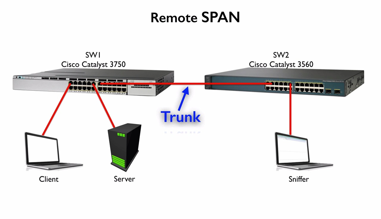 SPAN and RSPAN   Best Cisco CCNA CCNP and Linux/CentOS PDF Notes