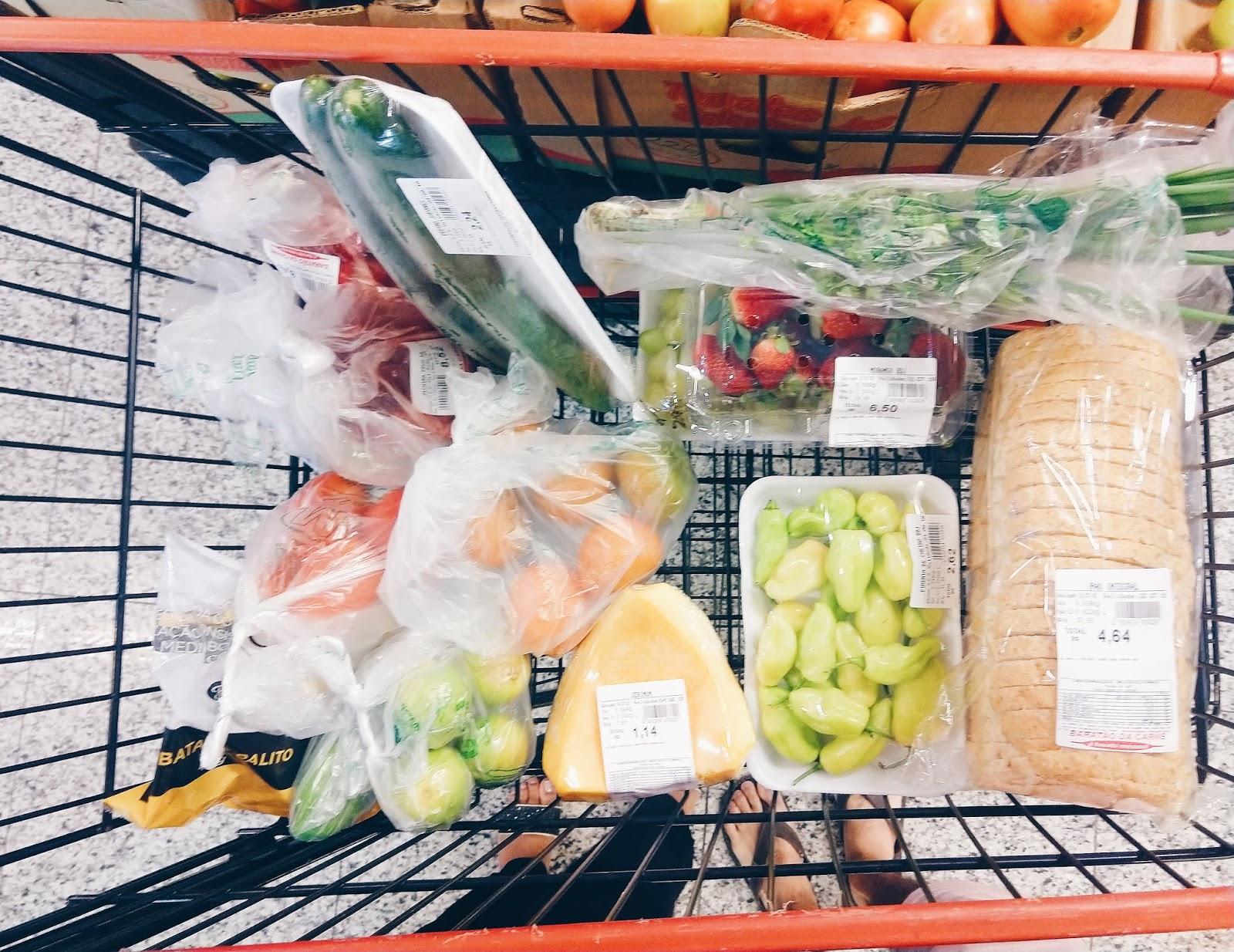 Vida de adulto, ajuda com o supermercado para iniciantes