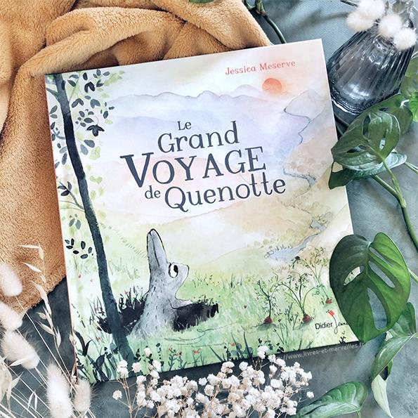 Album jeunesse : Le Grand Voyage de Quenotte