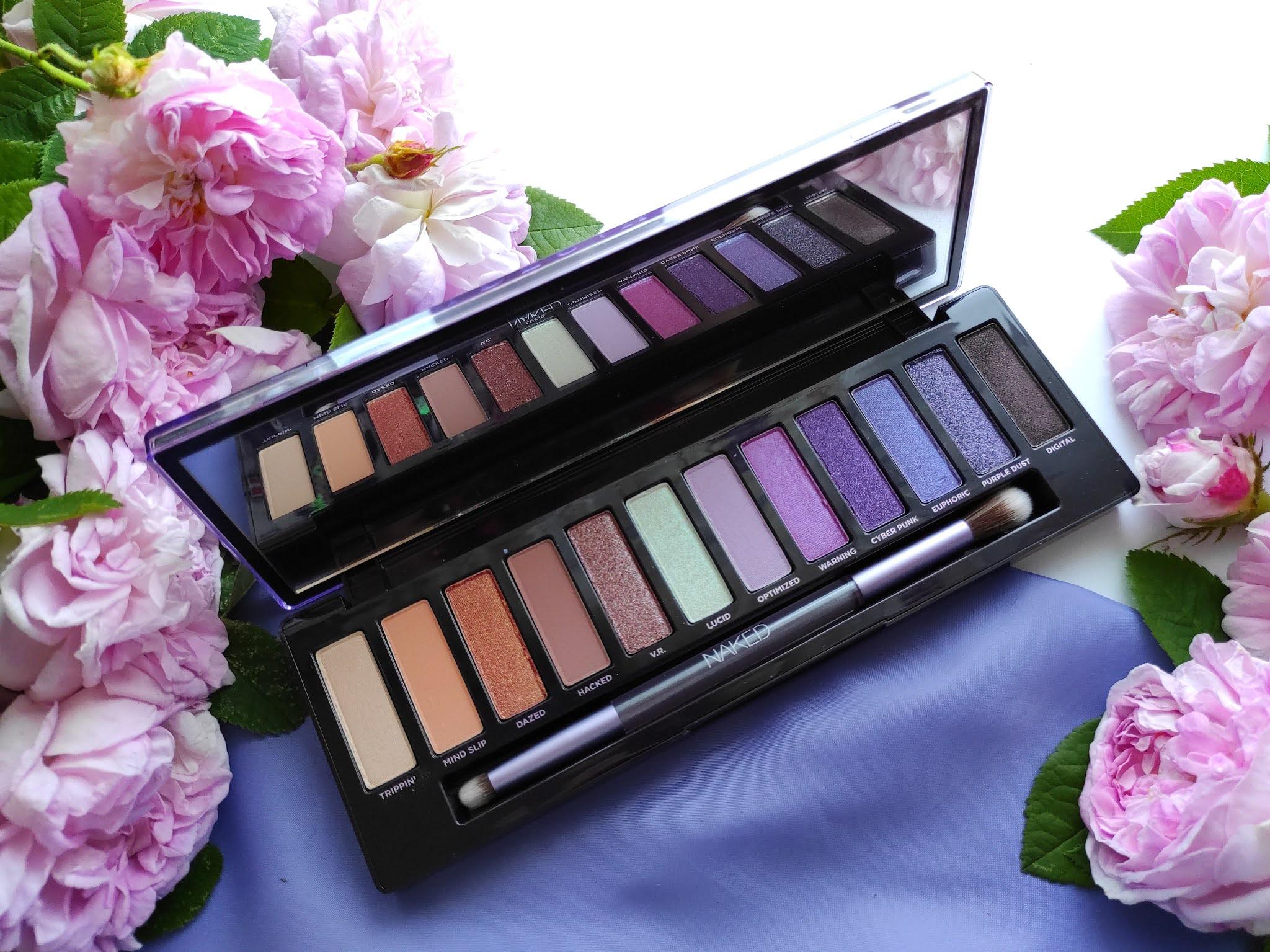 Recenzja palety Naked Ultraviolet
