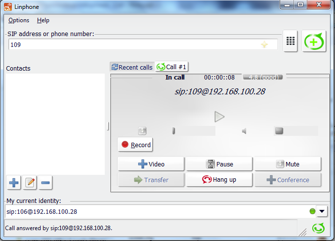 Nothing can stop u    : Configuring SIP client(s)(soft phone