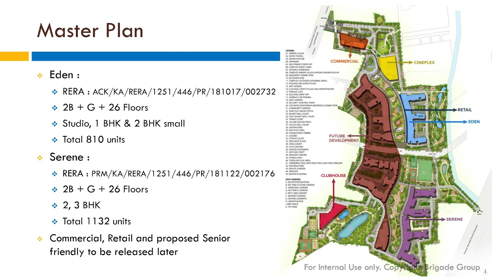 Brigade Utopia Master plan