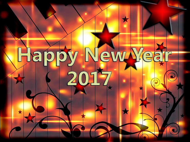 Happy New Year 2017 3D Wallpapers List