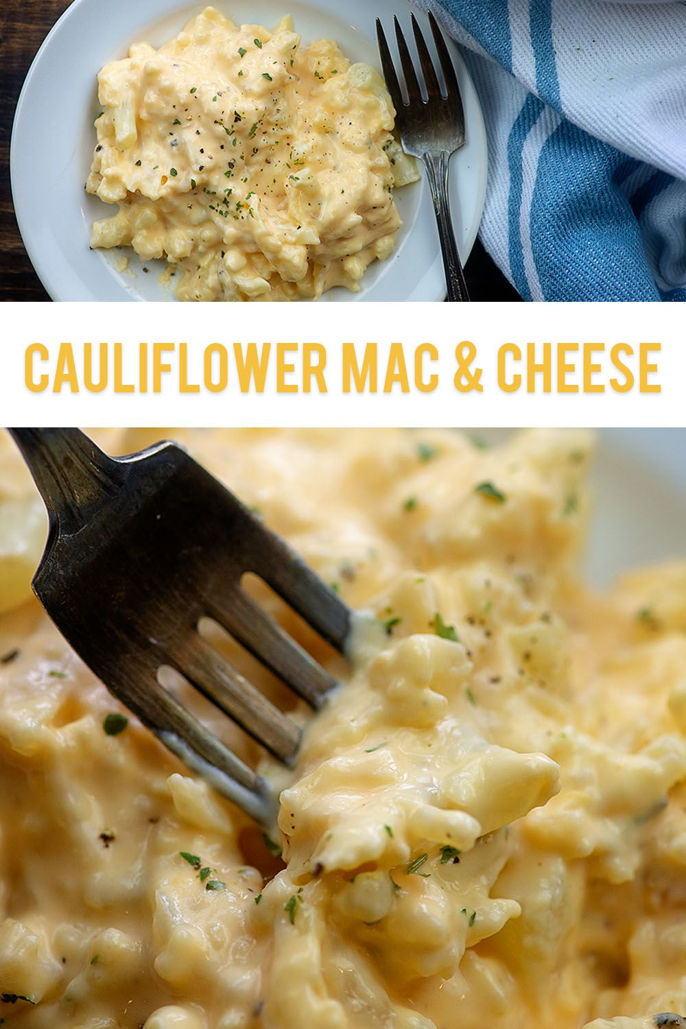 Keto Cauliflower Mac and Cheese Recipes