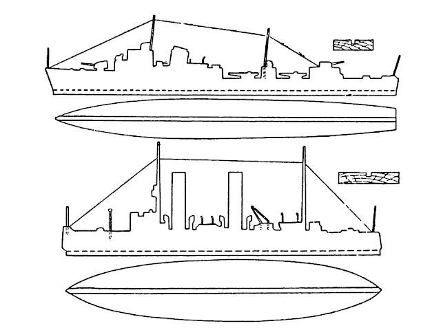 Лобзик чертеж корабля