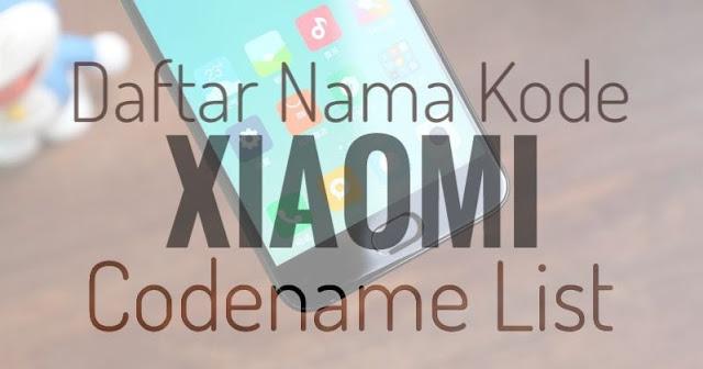 Codename Xiaomi