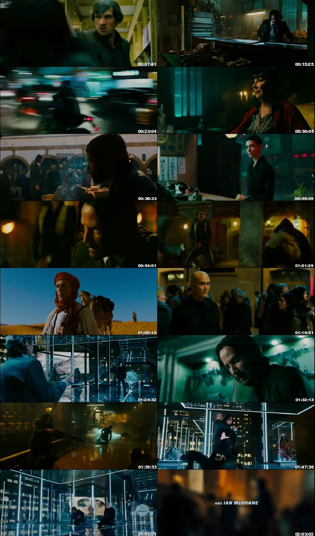 Screen Shot Of John Wick: Chapter 3 - Parabellum 2019 300MB Full Movie Hindi Dubbed Free Download 480P BRRip Small Size PC Movie