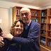 Carina e Serra: o ex-presidente socialista da UNE com a atual presidente bolivariana da UNE