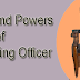 Duties and Powers of Registering Officer