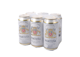 6 pack cerveza norteña