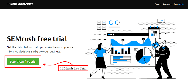 semrush marketing tools 7-day free trial