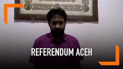Eks Panglima GAM, Muzakir Manaf Klarifikasi Soal Referendum: Itu Hanya Spontanitas, Aceh Tetap Pro-NKRI